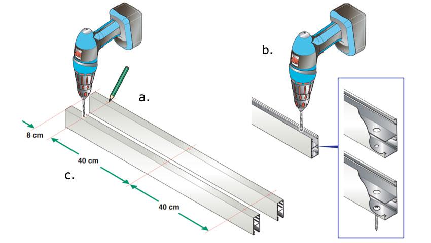 Montage volet roulant rénovation - Etape 5